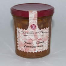 Confiture orange-citron-pamplemousse 370 gr