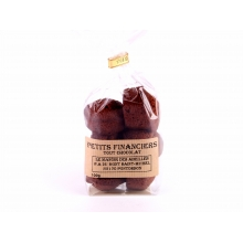 Petits financiers tout chocolat 100gr