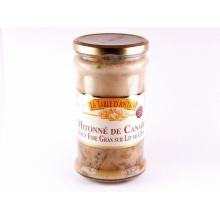 mitonné de canard sauce foie gras sur lit de cèpes 600gr