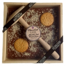 chocolat à casser biscuit breton 400gr
