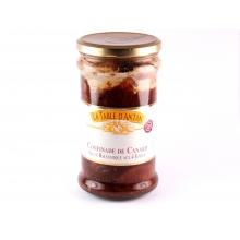 confinade de canard sauce balsamique aux 4 épices 600gr