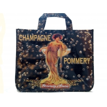sac cabas pub champagne pommery