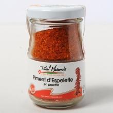 piment d'espelette en poudre 50gr