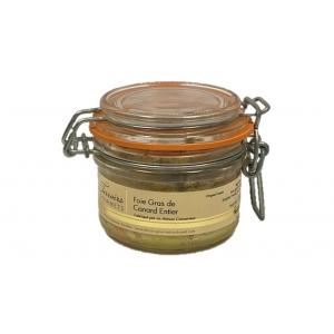foie gras de canard entier 120gr terroirs gourmets