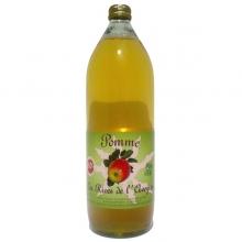 jus de pommes pressé 1 litre